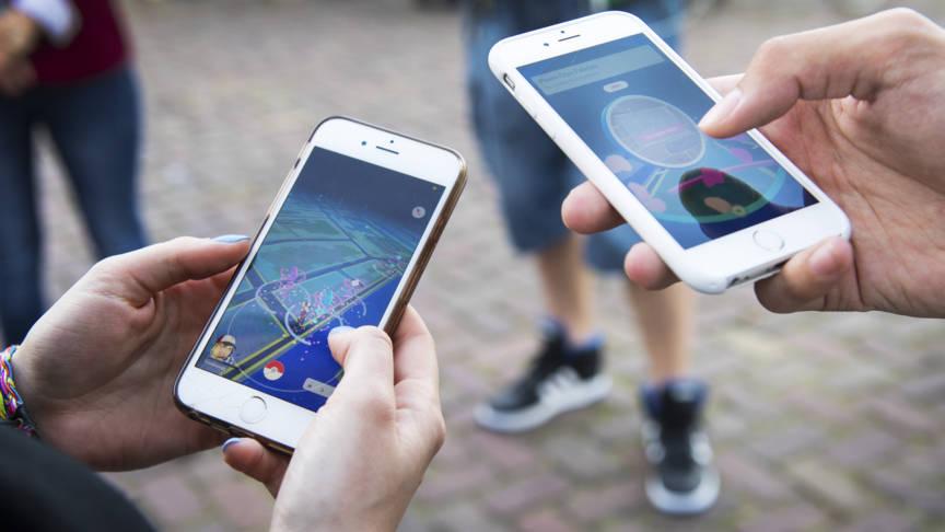 Speel Pokémon GO op je smartphone