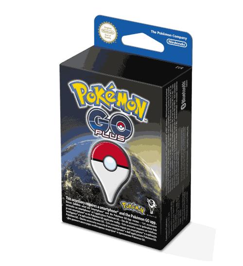 Pokémon GO Plus in doos