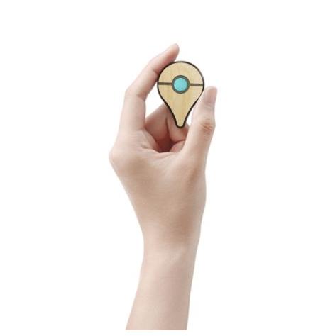 Houten skin Ash voor Pokémon GO Plus